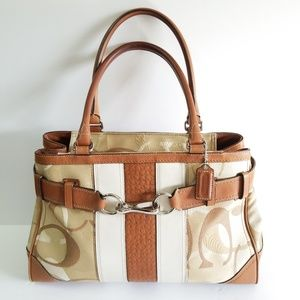 Coach Hampton satchel handbag purse